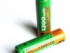 Rechargeable batteries - Cannot be recycled.
