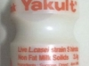 Yakult bottle - Should be emptied. Good if container can be rinsed.