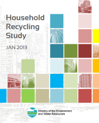 Household Recycling Study - report cover