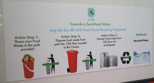Food waste recycling trial - Ang Mo Kio 1