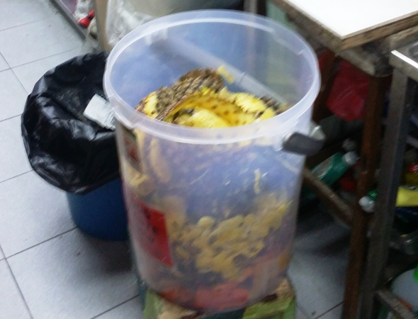 Food waste recycling trial - Ang Mo Kio 4