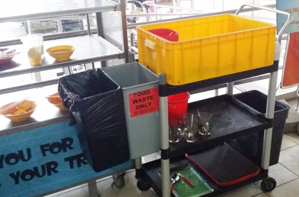 Food waste recycling trial - Ang Mo Kio 5
