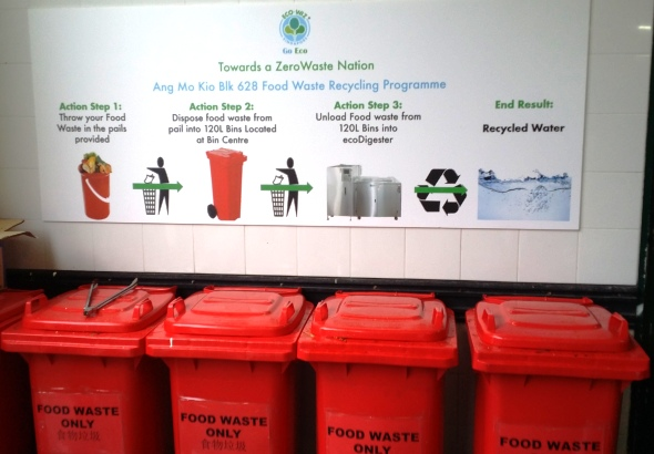 Food waste recycling trial - Ang Mo Kio 6