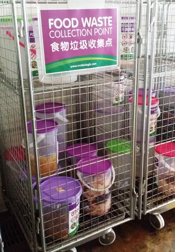 Food waste recycling trial - Tiong Bahru 5