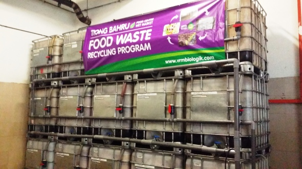 Food waste recycling trial - Tiong Bahru 9