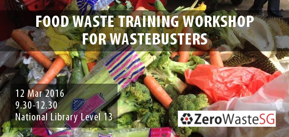 Food Waste Training Workshop for Wastebusters