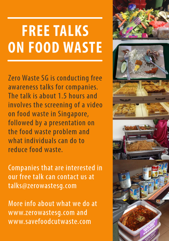 Free Food Waste Talks