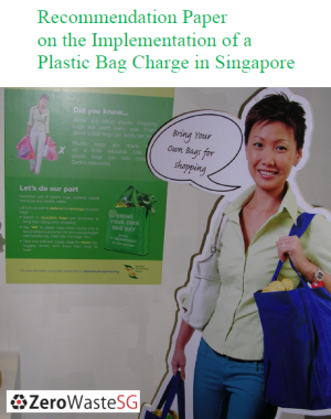 Download our Recommendation Paper on the Implementation of a Plastic Bag Charge in Singapore