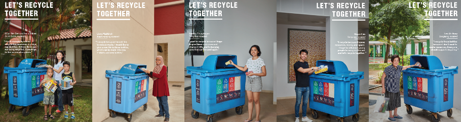 Let's Recycle Together (residents)